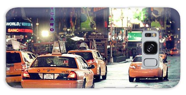 New York City Night Drive Galaxy Case