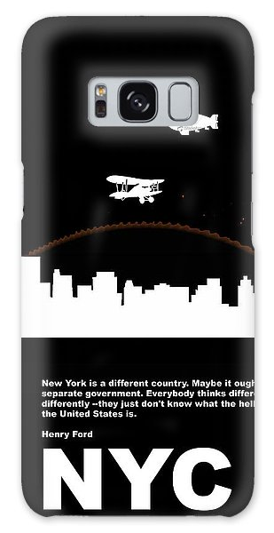 Broadway Galaxy Case - Nyc Night Poster by Naxart Studio