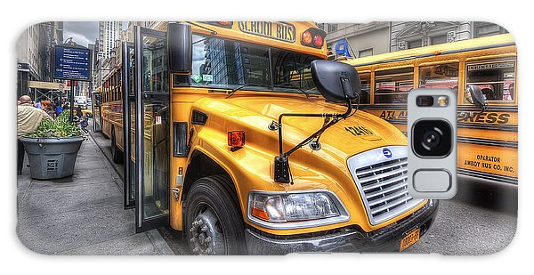 Nyc School Bus Galaxy Case