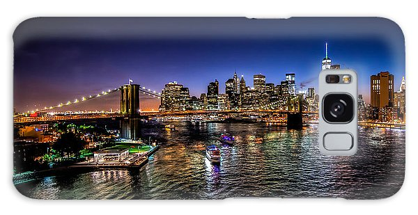 Nyc Skyline Galaxy Case
