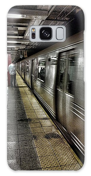 Nyc Subway Galaxy Case by Martin Newman