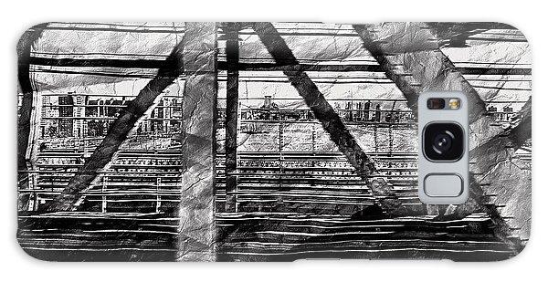 Nyc Train Bridge Tracts Galaxy Case