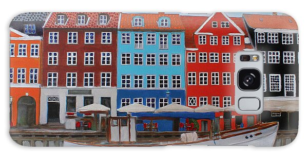 Nyhavn Copenhagen Galaxy Case