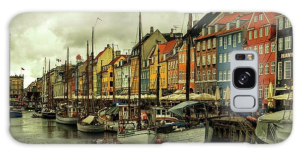 Nyhavn In Copenhagen Galaxy Case