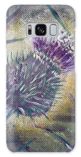 O' Flower Of Scotland Galaxy Case