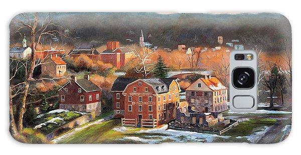 Bethlehem Galaxy Case - O, Little Town by Diane Hutchinson