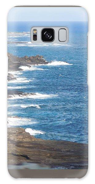 Oahu Coastline Galaxy Case