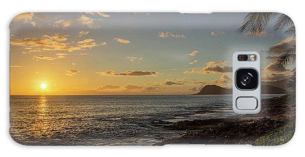 Oahu Sunset Galaxy Case