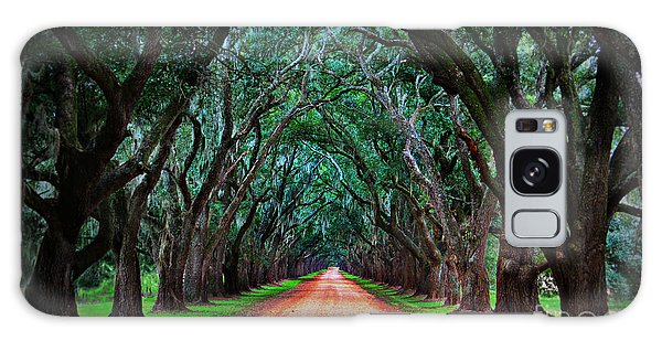 Oak Alley Road Galaxy Case