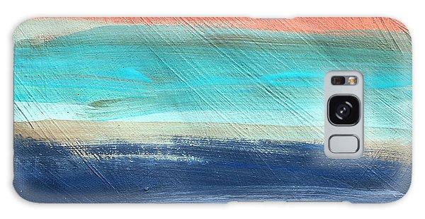 Oak Creek #27 Southwest Landscape Original Fine Art Acrylic On Canvas Galaxy Case