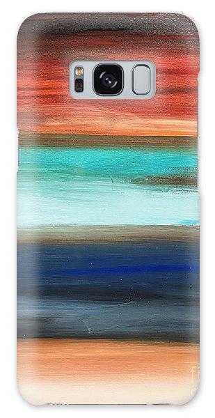 Oak Creek #28 Southwest Landscape Original Fine Art Acrylic On Canvas Galaxy Case
