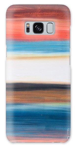 Oak Creek #29 Southwest Landscape Original Fine Art Acrylic On Canvas Galaxy Case