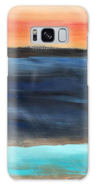 Oak Creek #31 Southwest Landscape Original Fine Art Acrylic On Canvas Galaxy Case