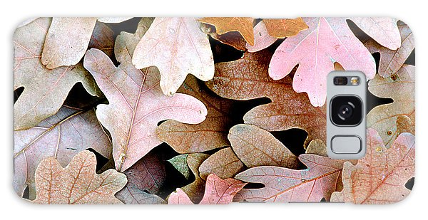 Oak Leaves Photo Galaxy Case