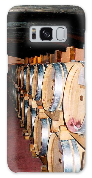 Oak Red Wine Barrels Galaxy Case