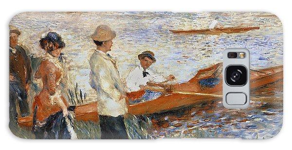 Boat Galaxy S8 Case - Oarsmen At Chatou by Pierre Auguste Renoir
