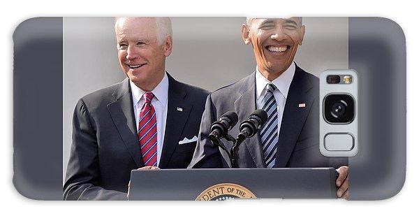 Joe Biden Galaxy Case - Obama And Biden by Anna Wilding