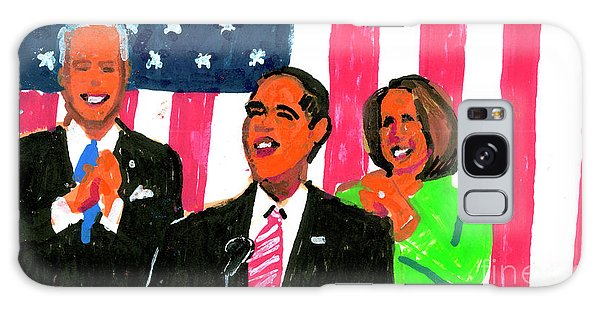 Obama's State Of The Union '10 Galaxy Case by Candace Lovely