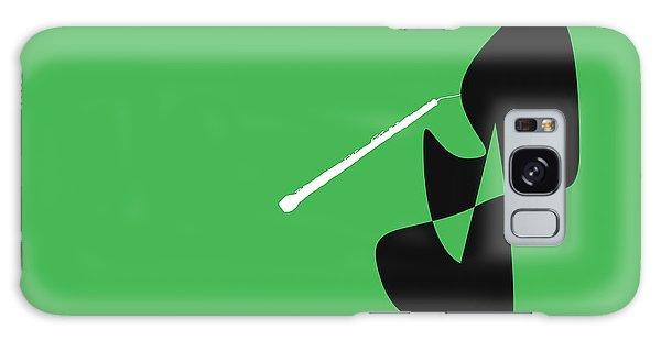 Oboe In Green Galaxy Case