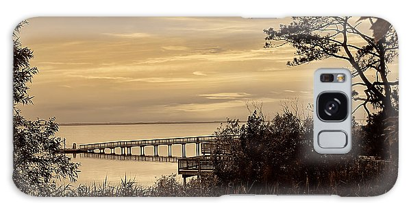 Obx Sunset In Sepia Galaxy Case