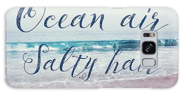 Ocean Air Salty Hair Galaxy Case by Nastasia Cook