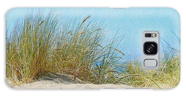 Ocean Beach Dunes Galaxy Case