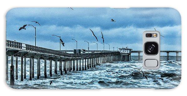 Ocean Beach Fishing Pier Galaxy Case