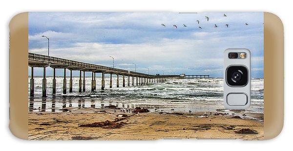 Ocean Beach Pier Fishing Airforce Galaxy Case