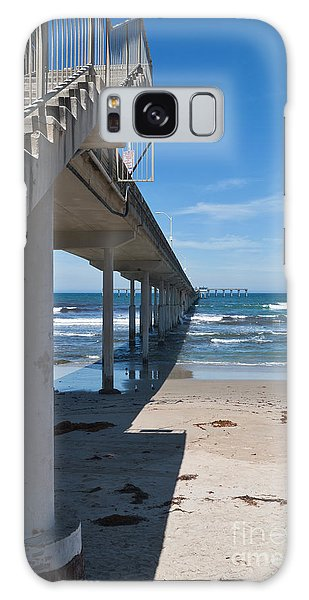 Ocean Beach Pier Stairs Galaxy Case