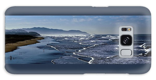 Ocean Beach San Francisco Galaxy Case by Steve Siri