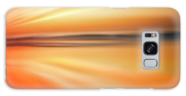 Ocean Beach Sunset Abstract Galaxy Case