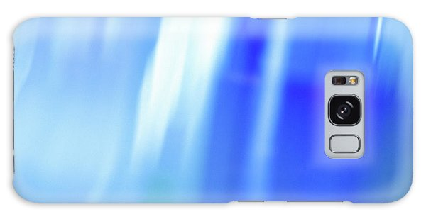 Cottage Galaxy Case - Ocean Blues Abstract by Laura Fasulo
