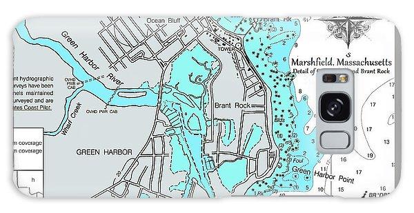 Ocean Bluff And Brant Rock Galaxy Case