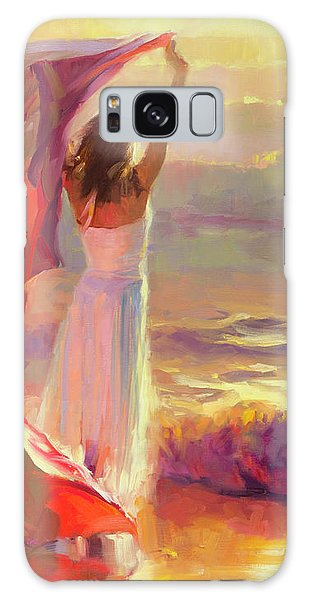 Galaxy Case featuring the painting Ocean Breeze by Steve Henderson