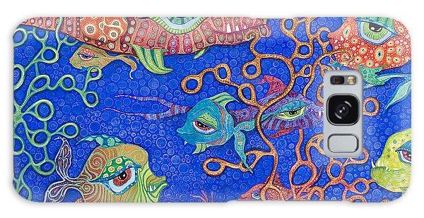 Ocean Carnival Galaxy Case by Tanielle Childers