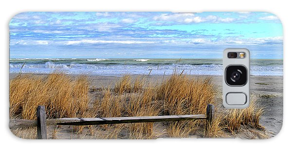 Ocean City Beach Fence Galaxy Case