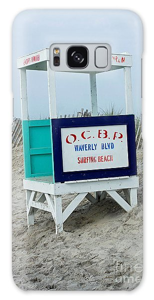 Ocean City Beach Scene Galaxy Case by Denise Pohl