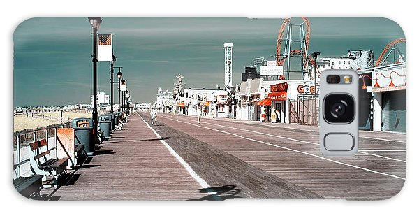 Ocean City Boardwalk Blues Galaxy Case by John Rizzuto