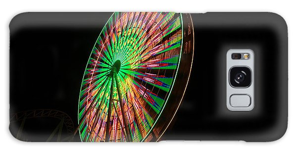 Ocean City Ferris Wheel Galaxy Case