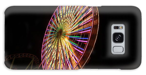 Ocean City Ferris Wheel1 Galaxy Case