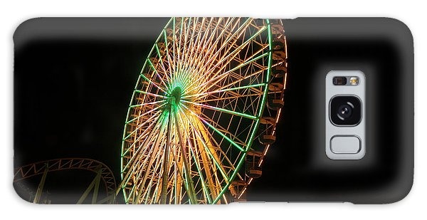 Ocean City Ferris Wheel3 Galaxy Case