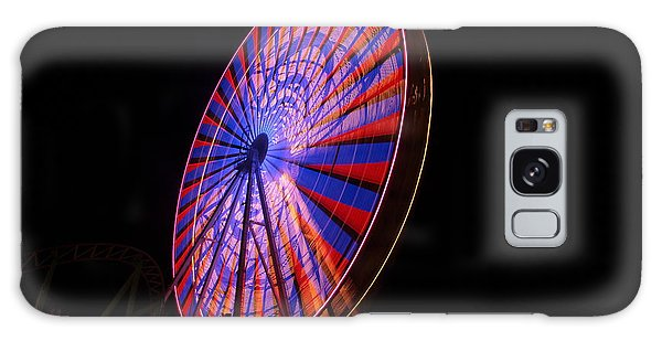 Ocean City Ferris Wheel4 Galaxy Case