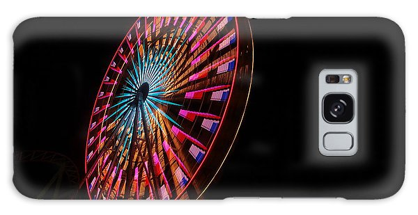 Ocean City Ferris Wheel6 Galaxy Case