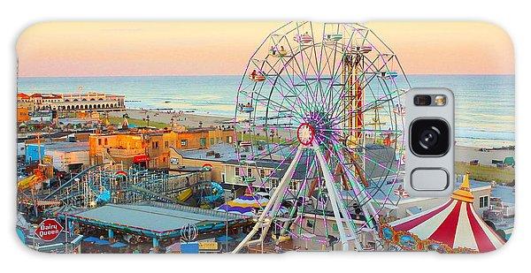 Ocean City New Jersey Boardwalk And Music Pier Galaxy Case