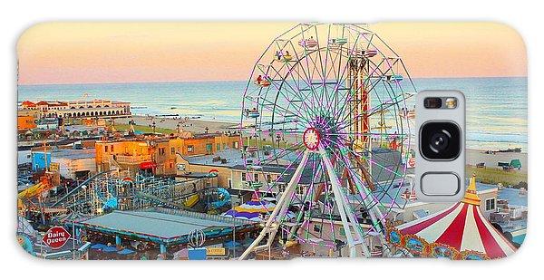 Ocean City New Jersey Boardwalk Galaxy Case