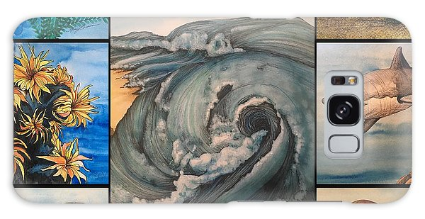 Ocean Collage #1 Galaxy Case
