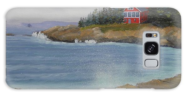 Ocean Cottage Galaxy Case