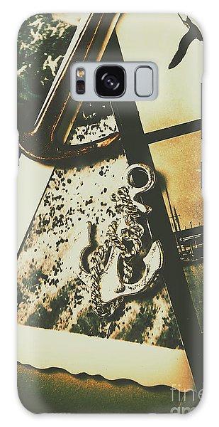 Shipping Galaxy Case - Ocean Cruise Nostalgia by Jorgo Photography - Wall Art Gallery
