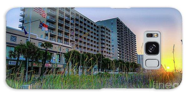 Ocean Drive Sunrise North Myrtle Beach Galaxy Case