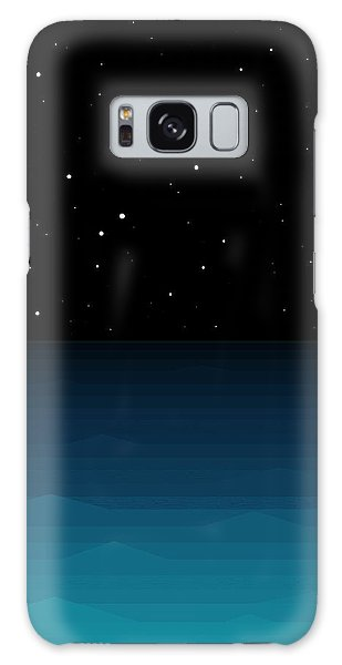 Ocean - Elements - Starry Night Galaxy Case by Val Arie